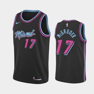 Miami Heat #17 Rodney McGruder City Jersey
